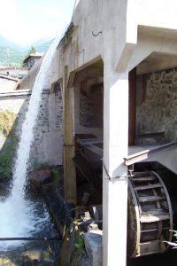 Ruota idraulica e Vaso Re a Bienno (Foto Luca Giarelli)