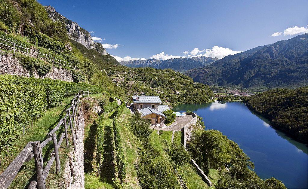 Terrazzamenti lago Moro Val Camonica