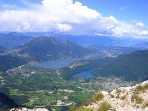 Valsugana con laghi Levico e Caldonazzo
