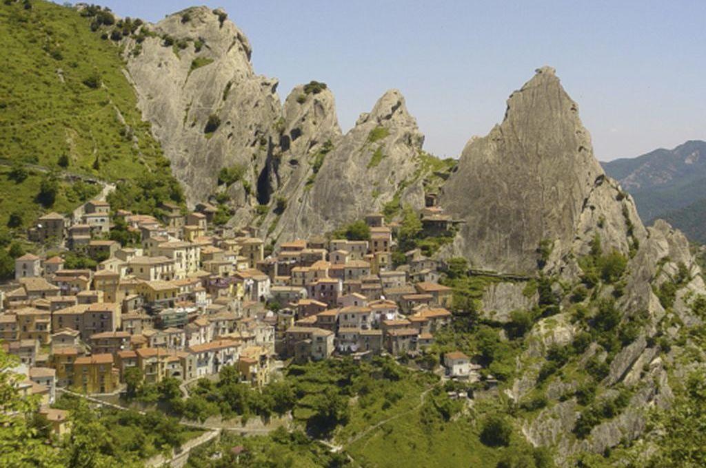 Castelmezzano, panoramica