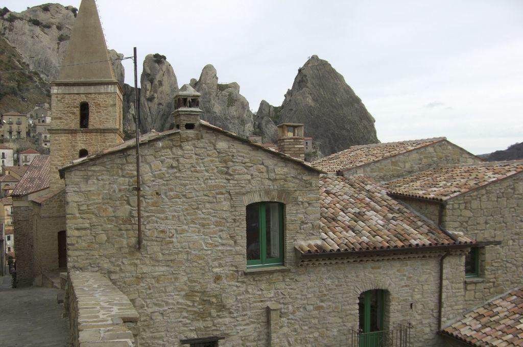 Castelmezzano, scorcio del centro