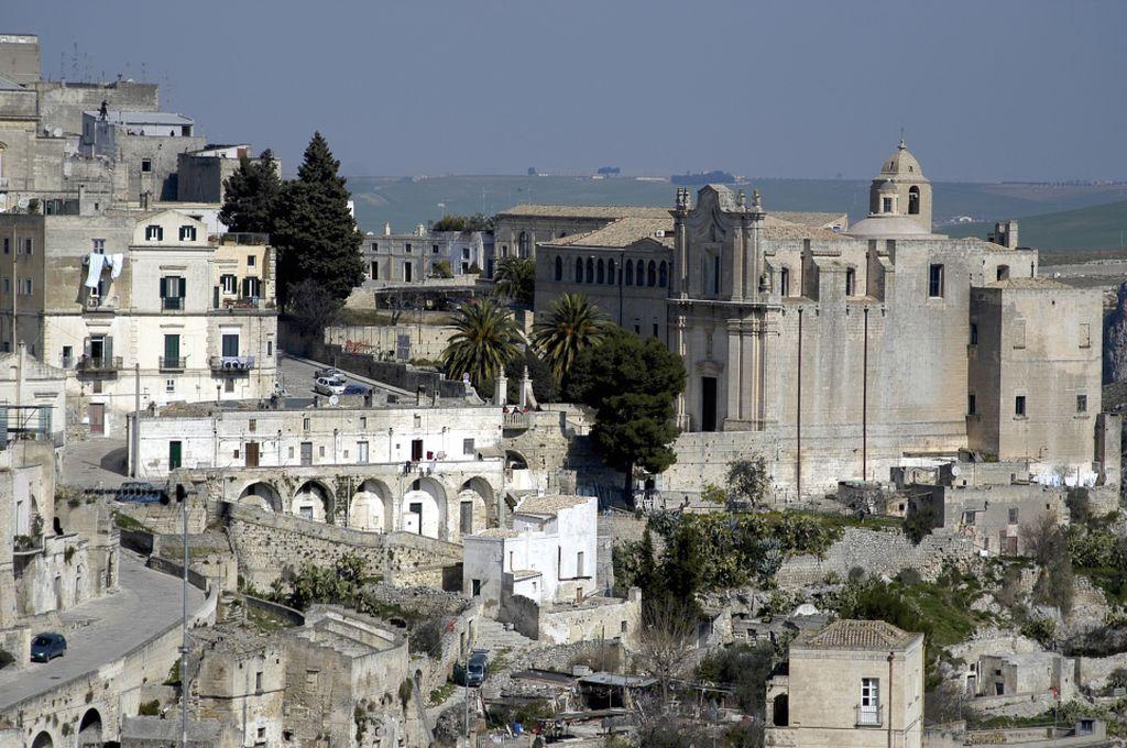 Matera, vista panoramica della Cattedrale