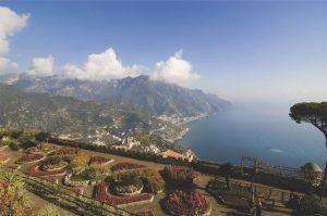 Costiera Amalfitana, vista del litorale di Amalfi