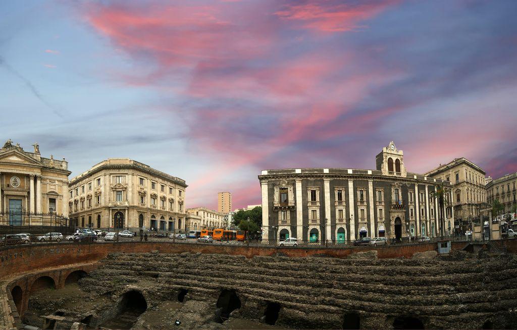 Catania, l'anfiteatro