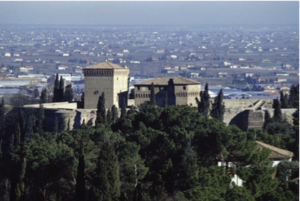 Cesena, vista panoramica