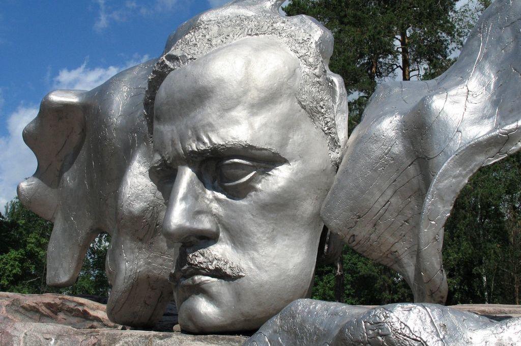 Helsinki, Face of Jean Sibelius
