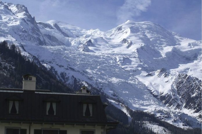 Chamonix, il ghiacciaio