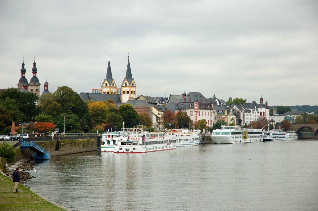 Koblenza, Crociera sul Reno