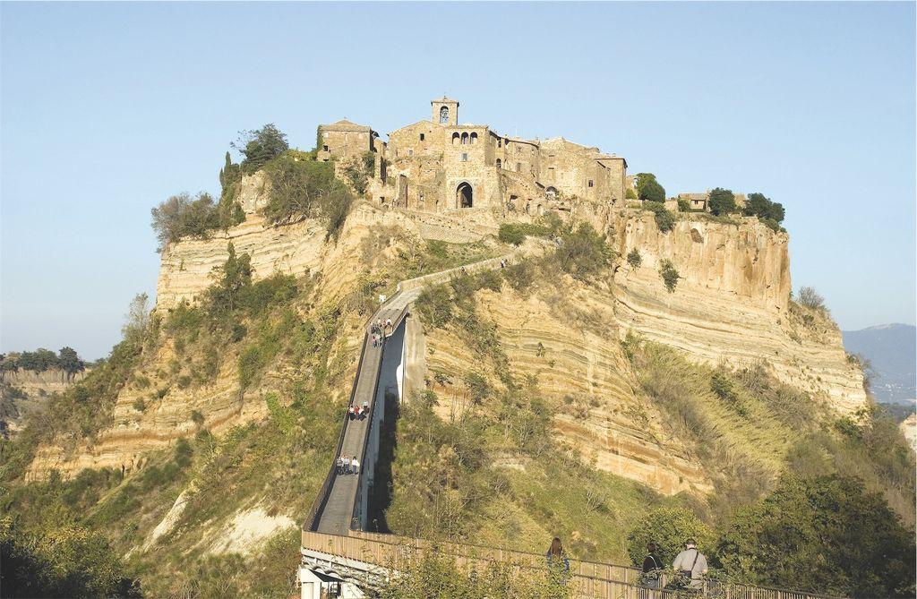 Toscana, Sorano, veduta
