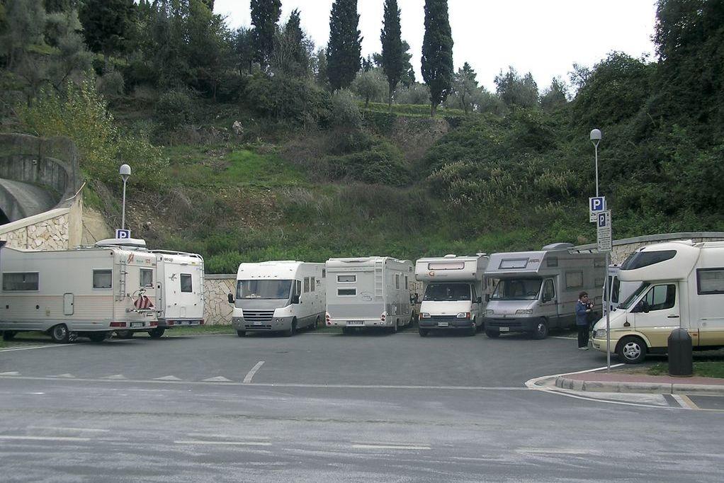 Sarzana, area sosta camper