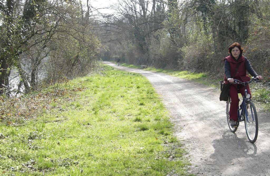 Trezzo d'Adda, la pista ciclabile