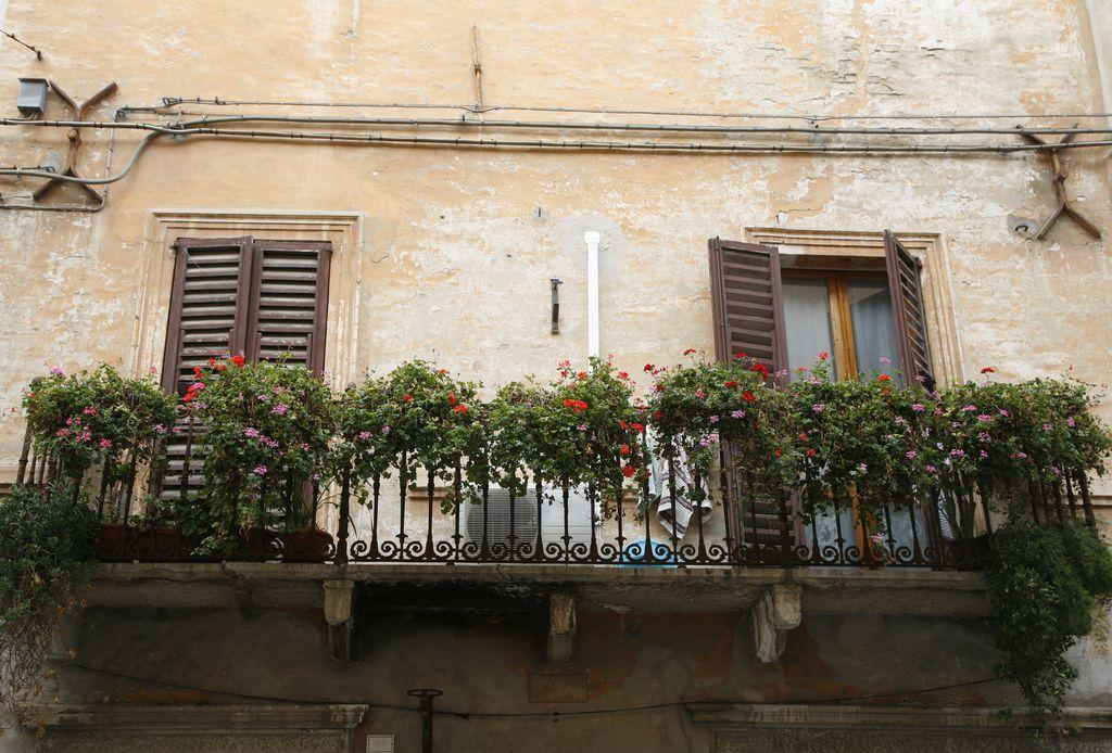 Cornialdo, un balcone