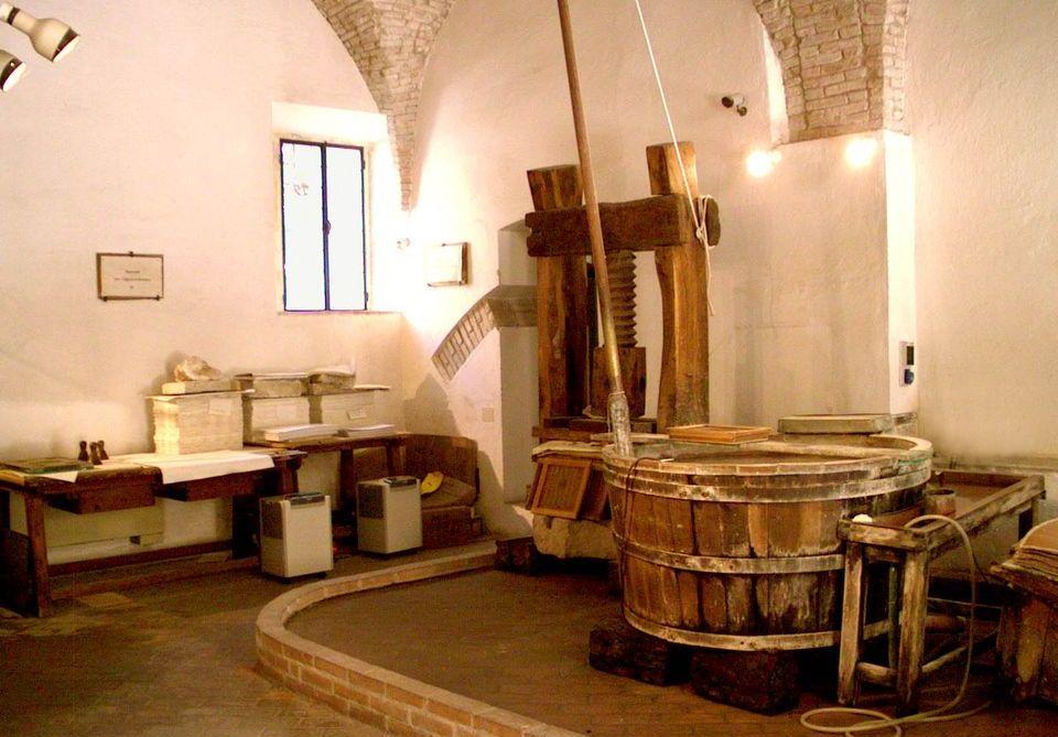 Fabriano, Gualchiera Medievale
