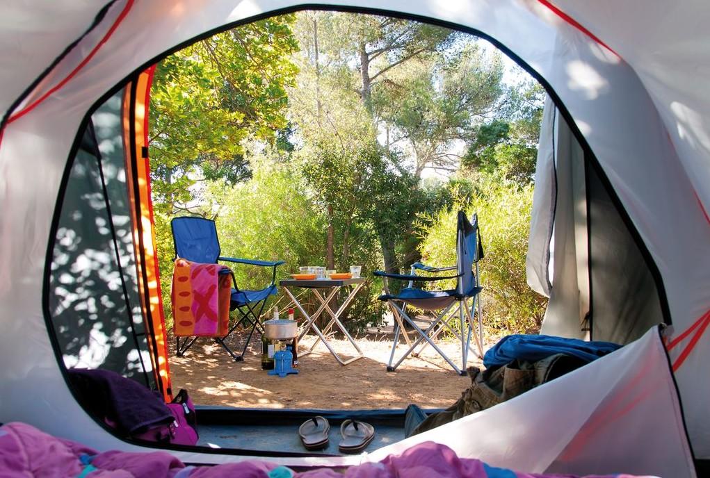 Non un ripiego, ma una vera e motivata scelta quella della tenda