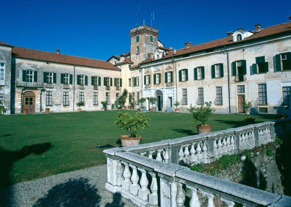 Castello di Masino, il giardino