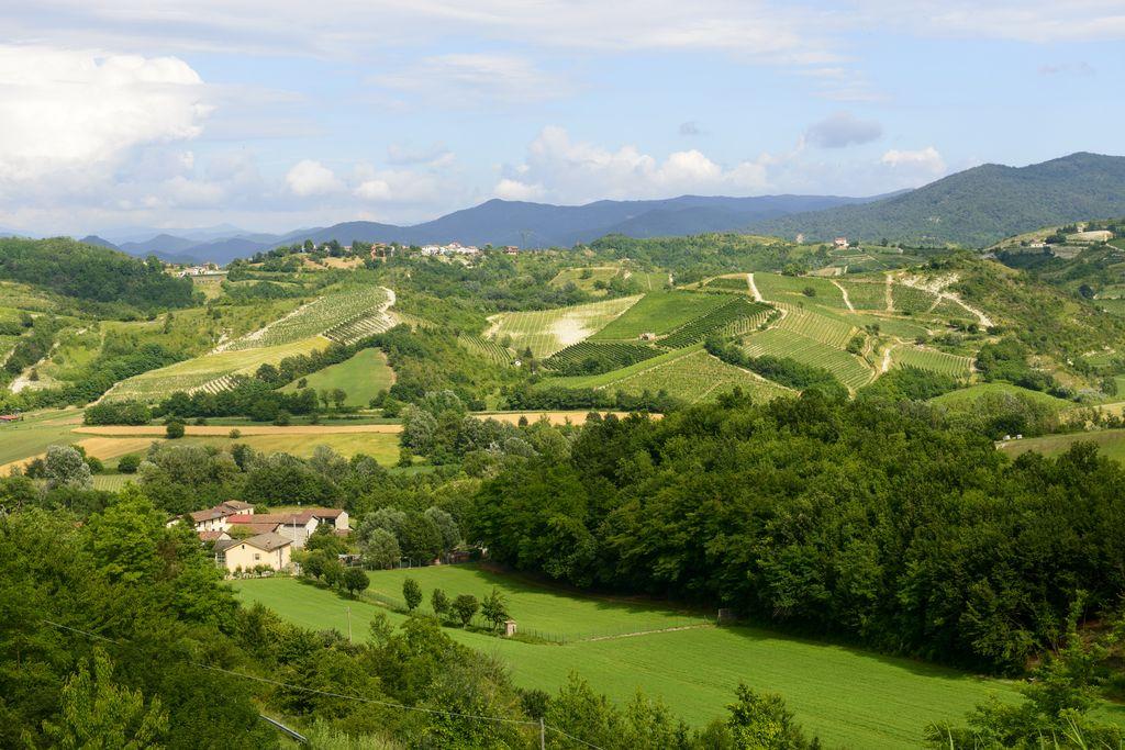 Monferrato, panorama