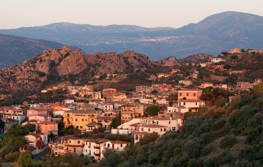 Santa Maria Navarrese, vista panoramica