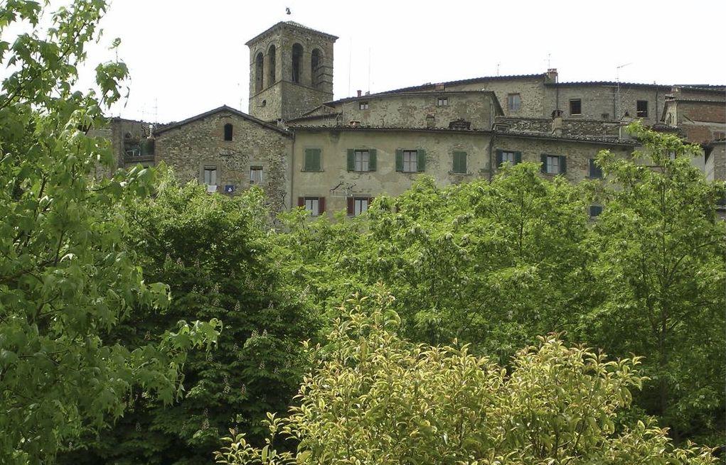 Anghiari, vista sul borgo