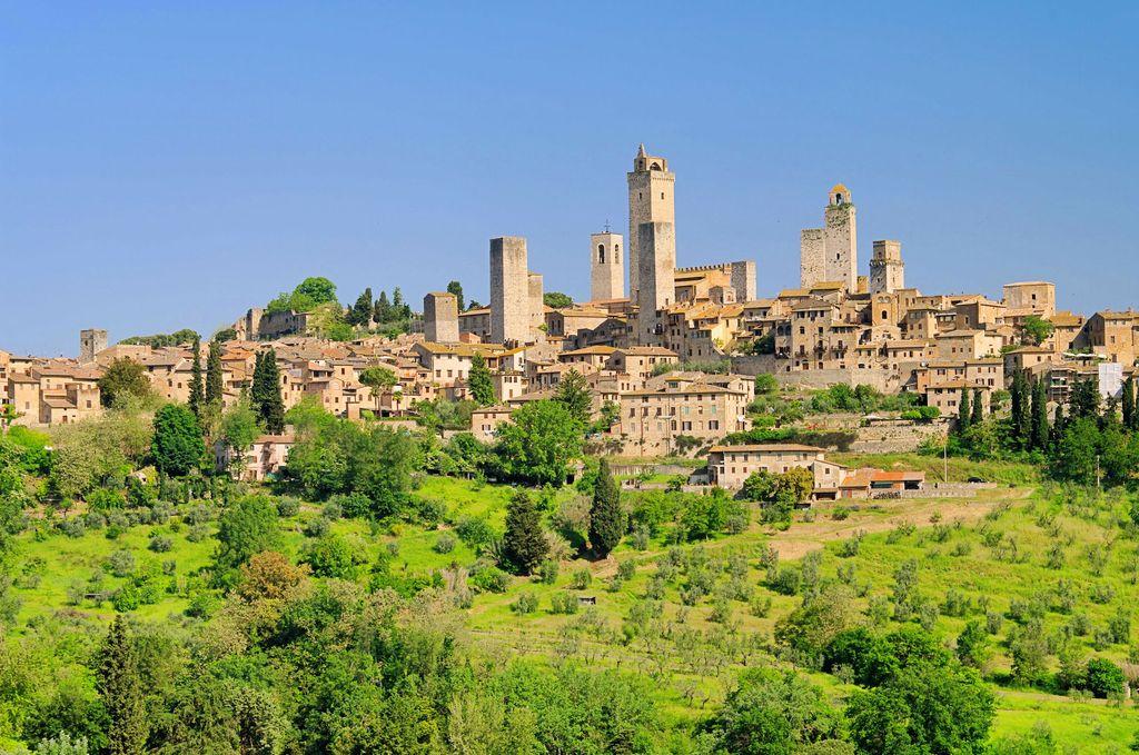 San Gimignano, panoramica sul borgo