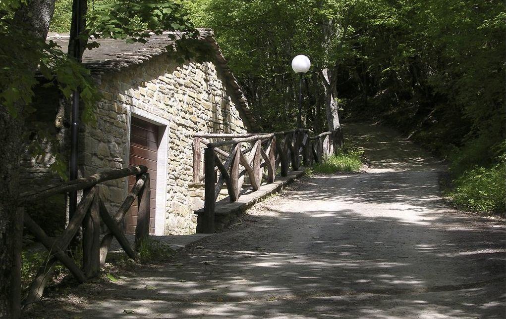 Sansepolcro, Sentiero che porta all'eremo