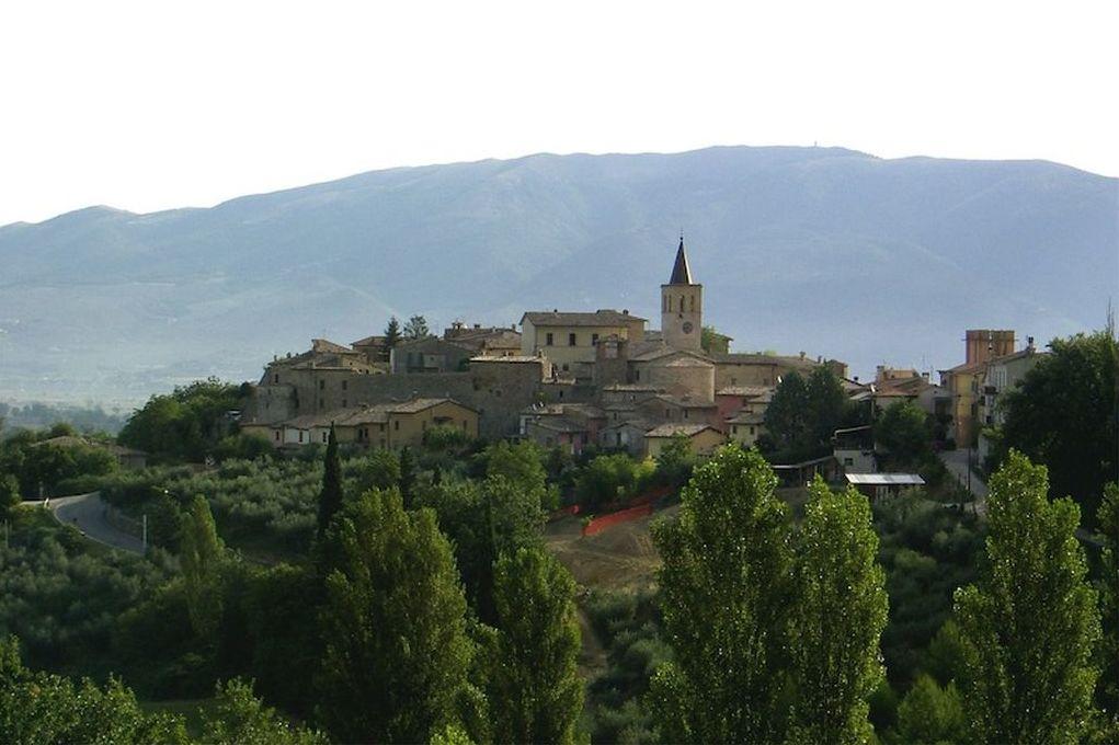 Castel Ritaldi, veduta