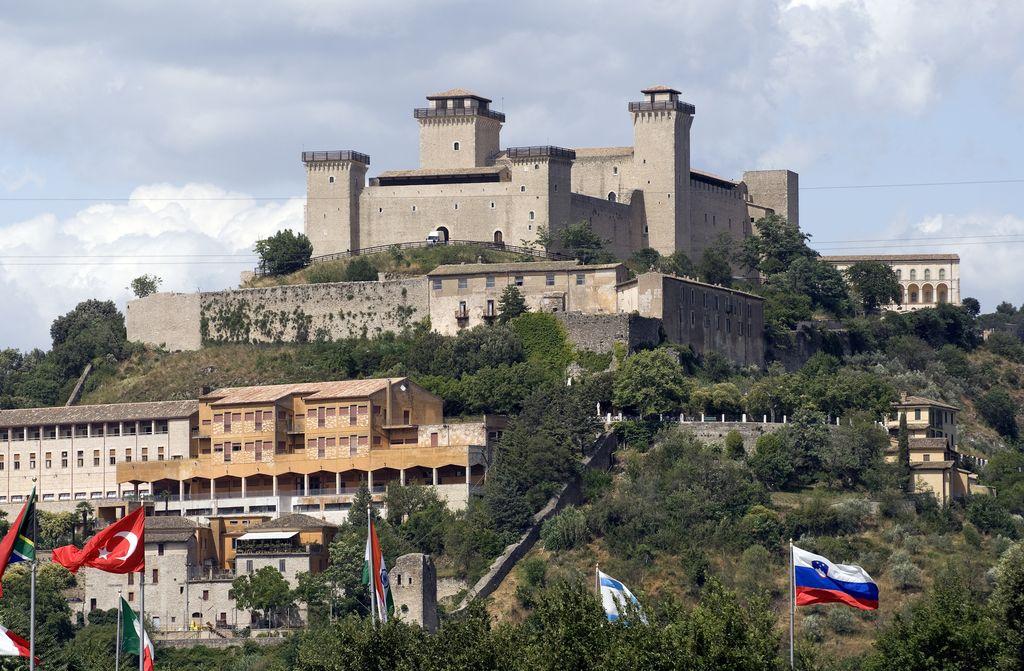 Spoleto, La Rocca Albornoziana