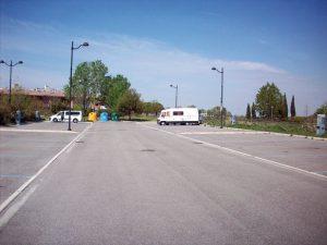 Area sosta Grado