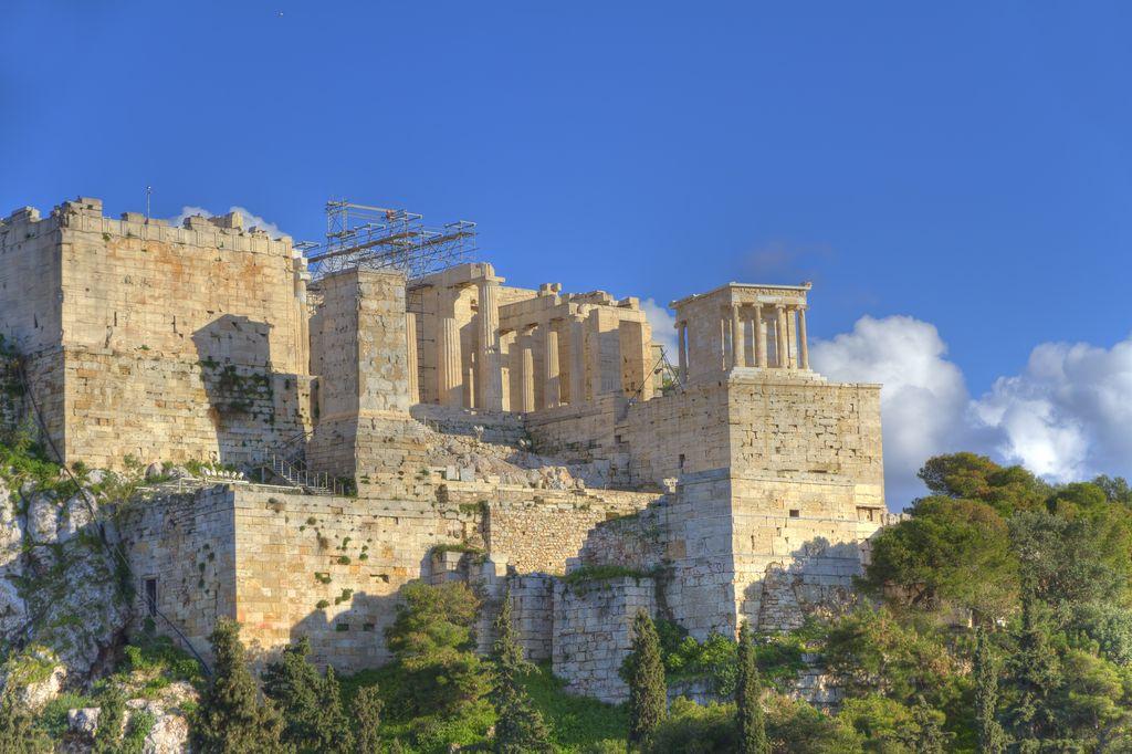 Acropoli di Atene vista da Aeropago