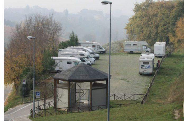 Area attrezzata Montefalco