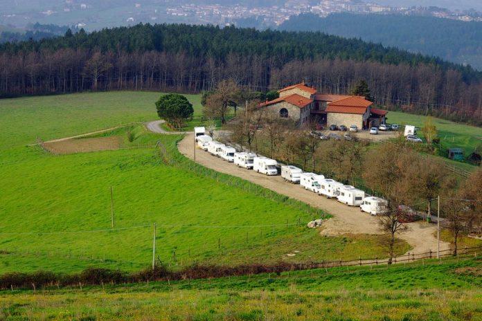 Area sosta Ag. Agricola Casentinese - Bibbiena (AR)