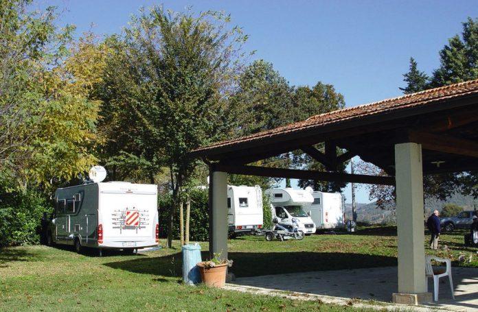 Area sosta Agriturismo Acquacalda - Montone (PG)