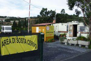 Area sosta camper Cervo