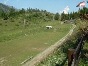 Area sosta Lago Laux - Usseaux (TO)