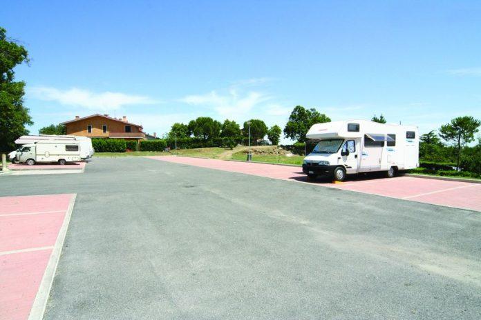 Area sosta Montalcino - Montalcino (SI)