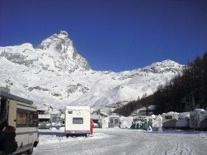 Area sosta Montecervino - Breuil Cervinia (AO)