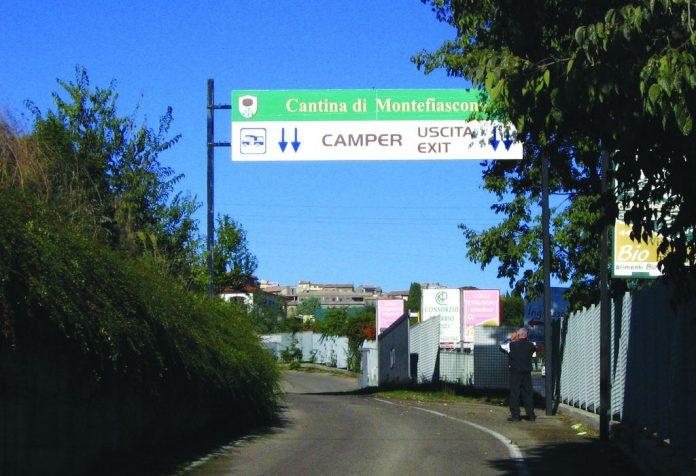 Area sosta Montefiascone