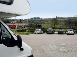 Area sosta Montefioralle - Greve in Chianti (FI)