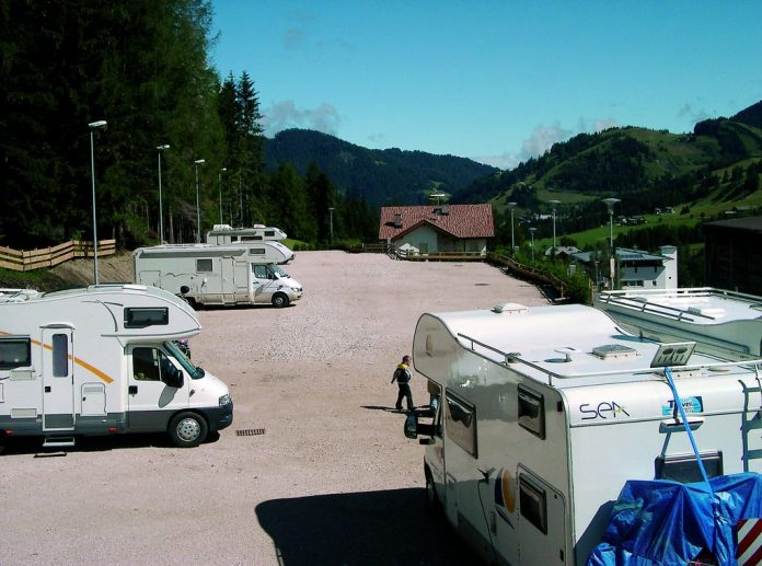 Area sosta Parking Odlina - La Villa in Badia (BZ)