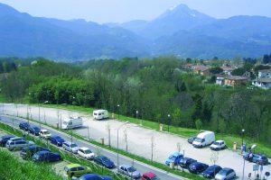 Area sosta Parking San Cristoforo - Barga (LU)