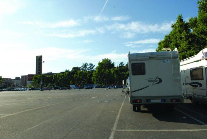 Area sosta Piazza del Palio - Asti (AT)