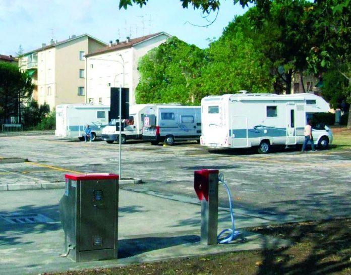 Area sosta camper comunale - Brisighella (RA)