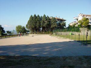 Area sosta comunale Monte Castello