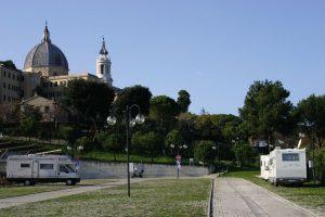 Area sosta della Basilica - Loreto (AN)