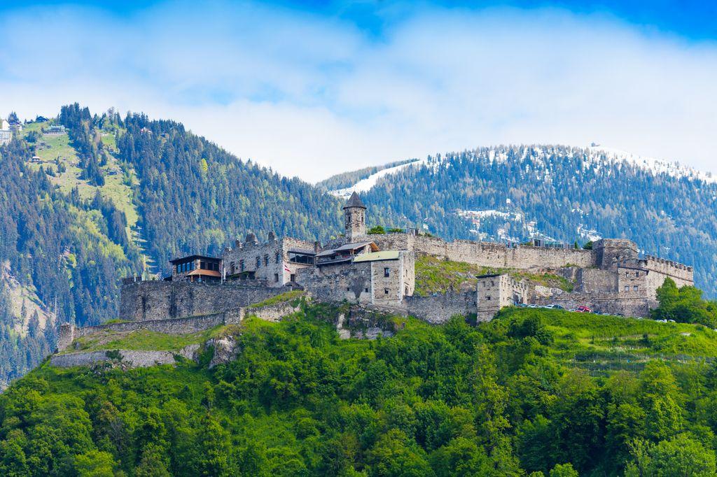Il castello di Landskron a Ossiach
