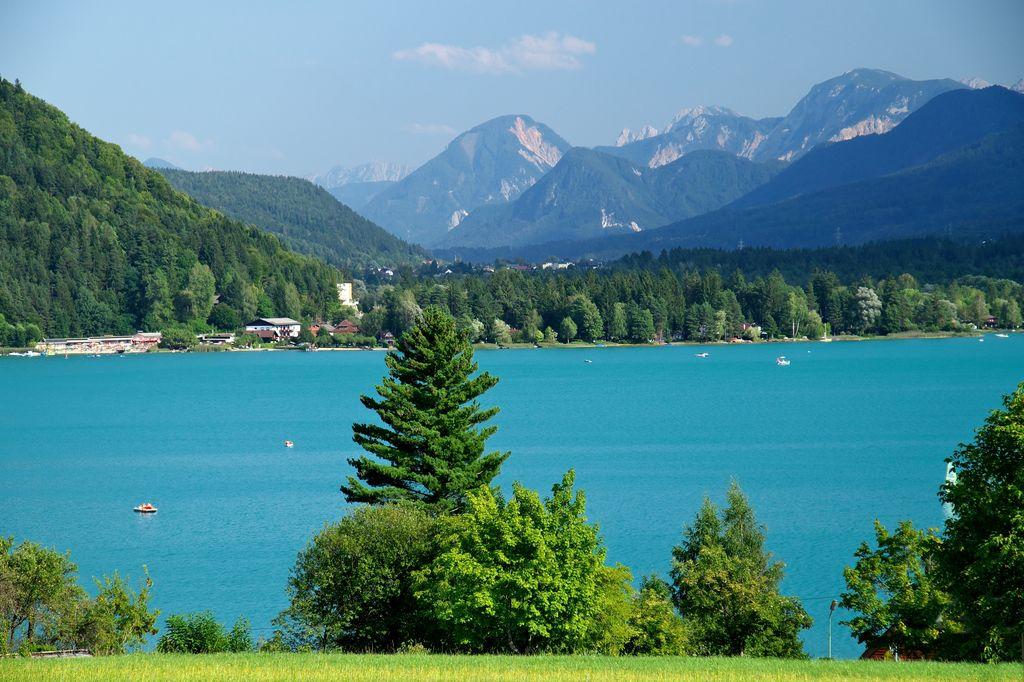 Panoramica sul lago Faak