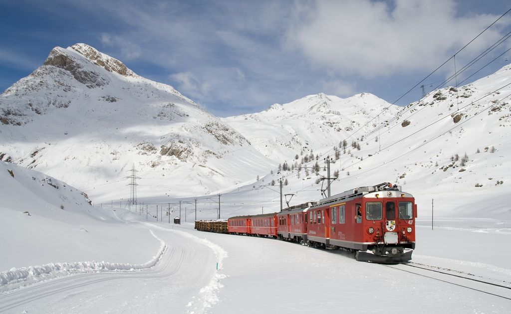Bernina Express Ospizio Bernina