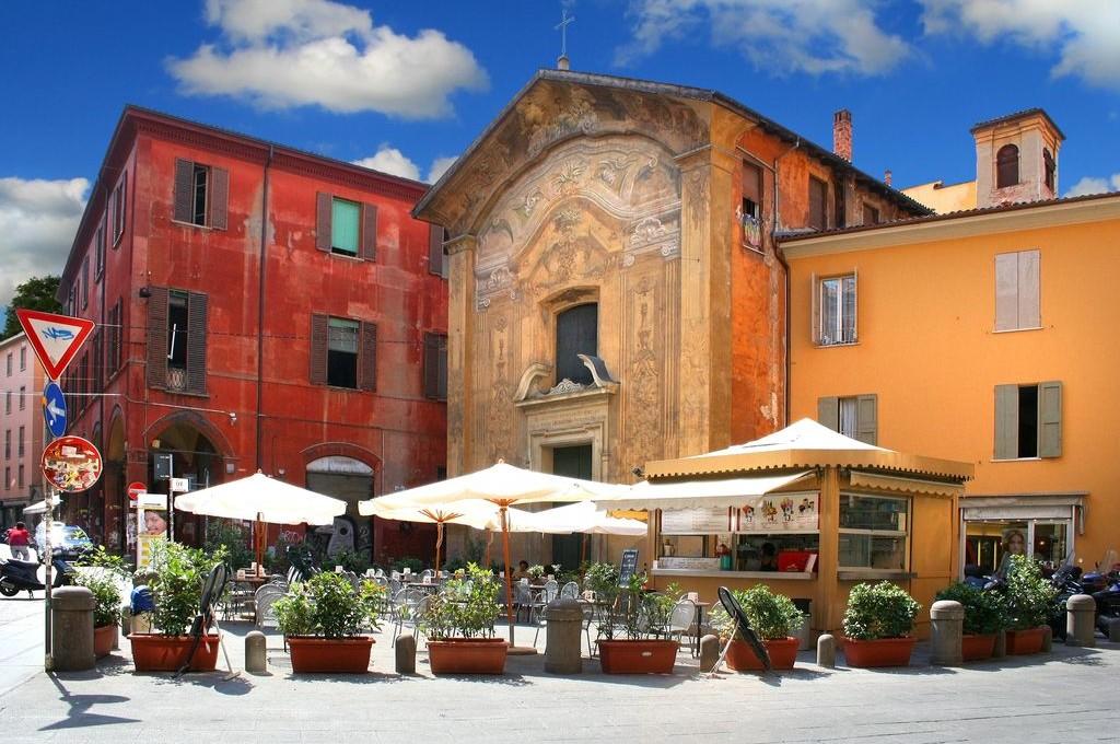 Bologna, scorcio sul centro storico