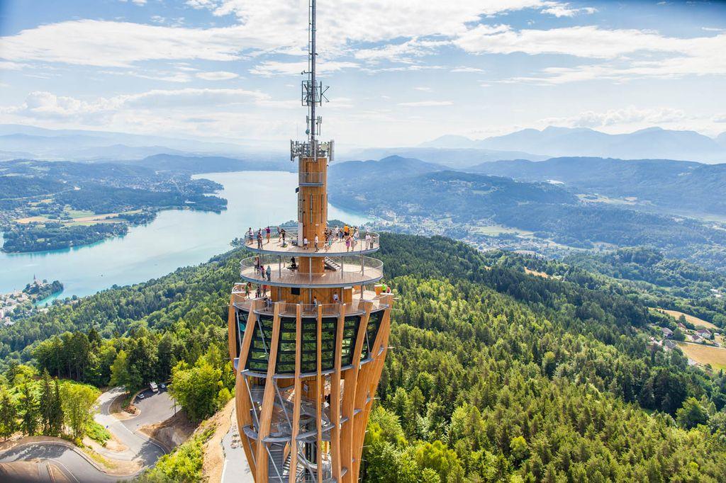 La torre panoramica Pyramidenkogel
