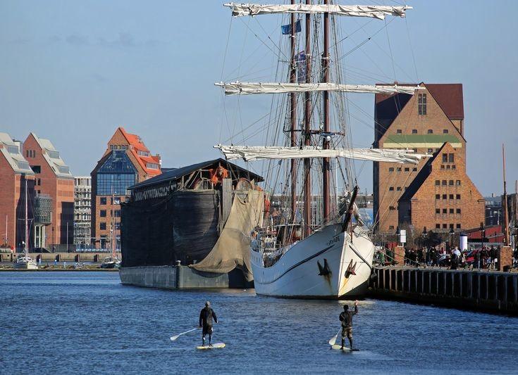 Il porto di Rostock