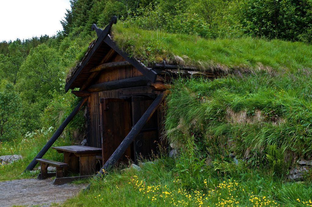 Tradizionale abitazione vichinga